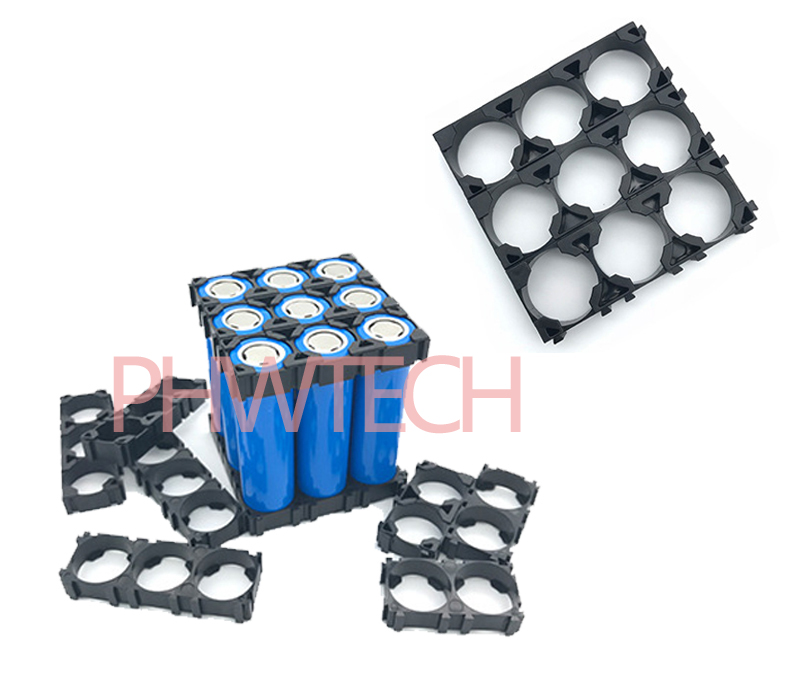 1x2 2x3 Cell 26650 Batteries Spacer Radiating Shell Plastic