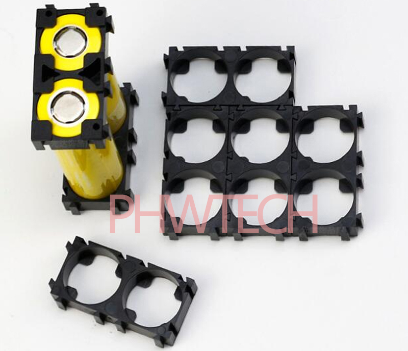 1x2 2x3 Cell 21700 Batteries Spacer Radiating Shell Plastic